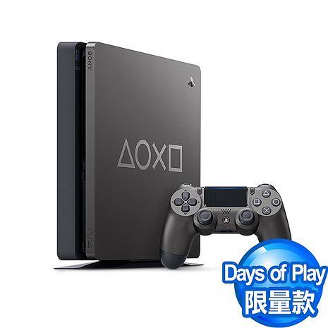 PS4 Slim主機1TB Days of Play Limited Edition限量特仕機 鋼鐵黑