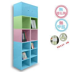 ~ ~~正陞iTAR~DIY 櫃 魅力玩味套裝組 收納櫃置物櫃書櫃文件櫃資料櫃 共八入^(