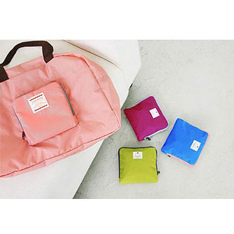 旅行防水輕便多功能變換手提包可摺疊收納包/購物袋旅行購物 輕鬆帶著走