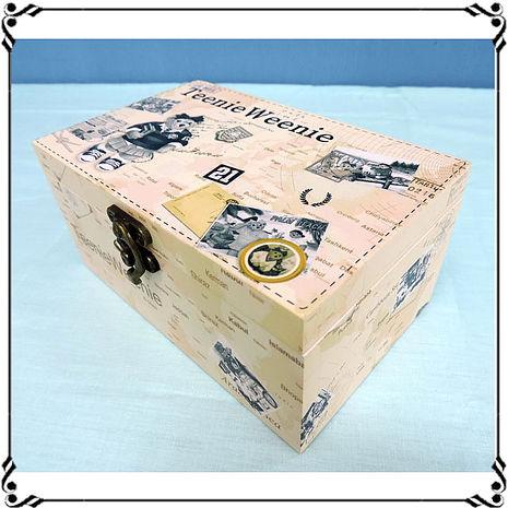 【妙妙家居】音樂首飾盒《WD2》復古小熊首飾盒 熊熊音樂盒 ZAKKA珠寶盒 小物收納 送禮