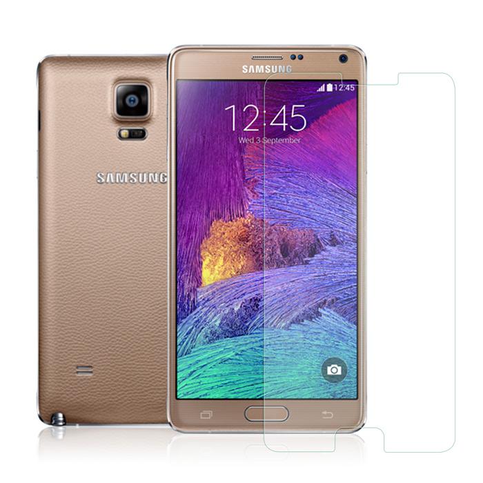 MADALY 防油疏水抗指紋 Samsung Galaxy Note4 鋼化玻璃保護貼