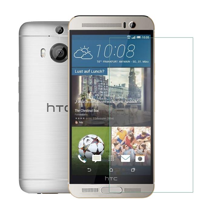 MADALY 防油疏水抗指紋 HTC One M9+ 鋼化玻璃保護貼