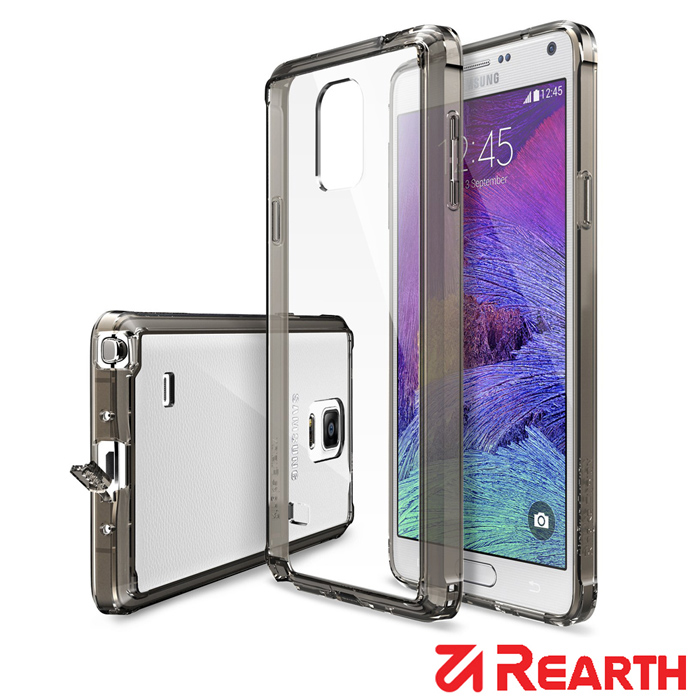 Rearth 三星 Galaxy Note 4 高質感透明保護殼透明