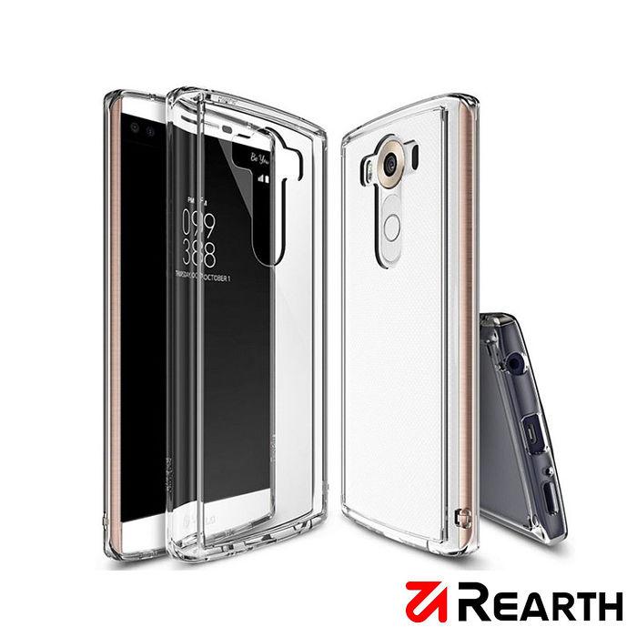 Rearth LG V10(Ringke Fusion)高質感透明保護殼(贈送保護貼)