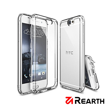 Rearth HTC One A9(Ringke Fusion)高質感保護殼(贈送保護貼)玫瑰金