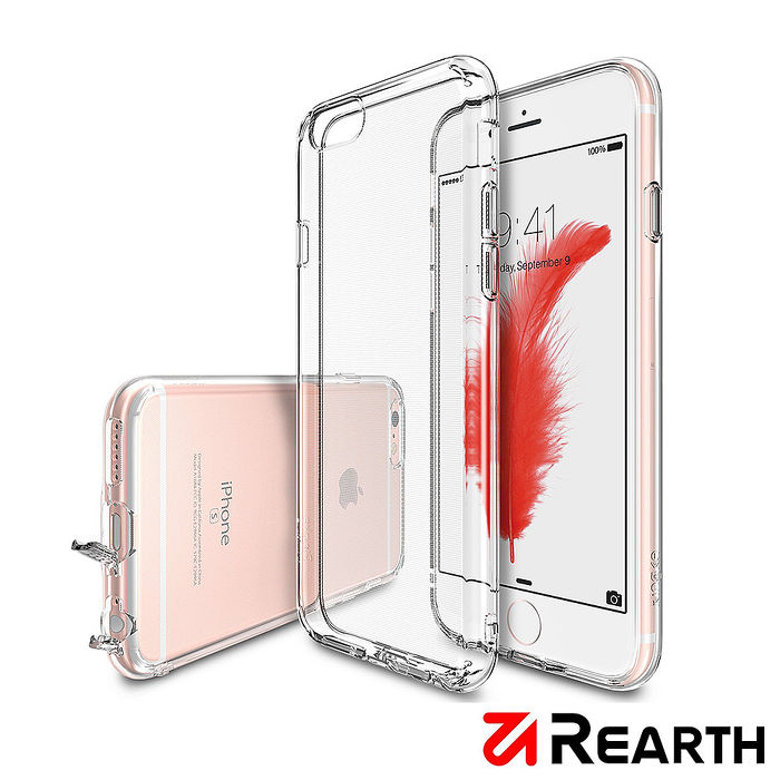 Rearth Apple iPhone 6/6s Plus (Ringke Air) 輕薄保護殼(透明) 贈送螢幕保護貼