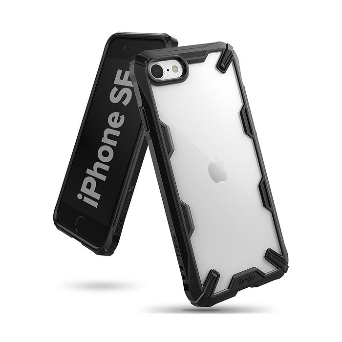 Rearth Apple iPhone SE(2代) (Ringke Fusion X) 抗震保護殼