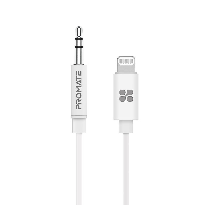 Promate Apple lightning to 3.5mm 原廠認證音源轉接頭(AudioLink-LT1)