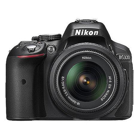 Nikon D5300+AF-P 18-55mm 變焦鏡組(公司貨)-送32G記憶卡+相機包+減壓背帶+保護鏡+快門線+大清潔組