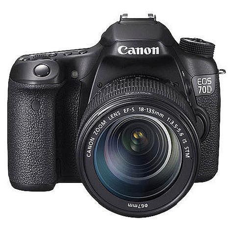 Canon EOS 70D 18-135mm STM組(公司貨)-送專用電池+32G記憶卡+減壓背帶+大清潔組