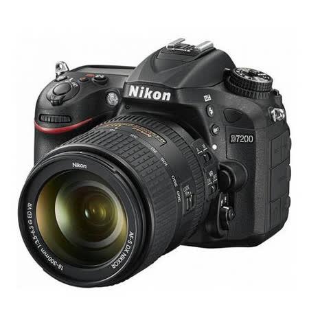 Nikon D7200 18-300mm F/3.5-6.3G ED VR (公司貨)-送原廠電池+保護貼+清潔組