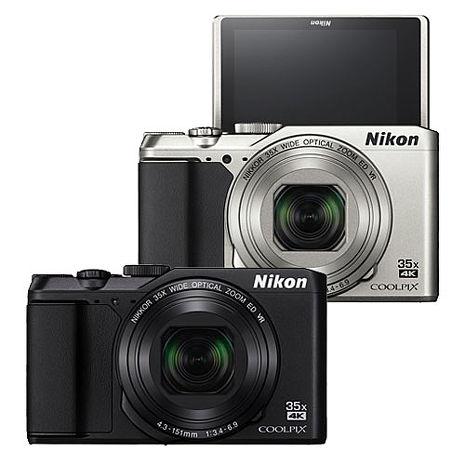 Nikon COOPLIX A900 35倍光學變焦翻轉螢幕機(平輸中文)黑