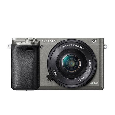 SONY A6000L含16-50mm鏡頭(公司貨)石墨灰-贈32G+保護貼+清潔組