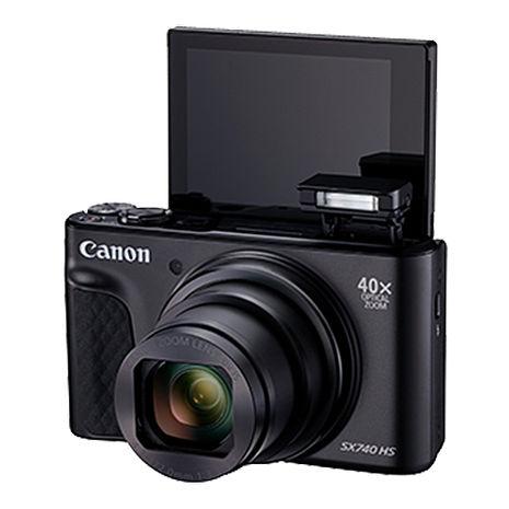Canon PowerShot SX740 HS (公司貨)-送64G記憶卡+桌面小腳架+帆布相機袋+小清潔組+保護貼