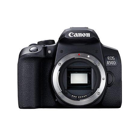 Canon EOS 850D 單機身 公司貨-送128G卡+相機包+快門線+火箭吹球+NLP-1拭鏡筆+減壓背帶墊肩+八爪魚三腳架