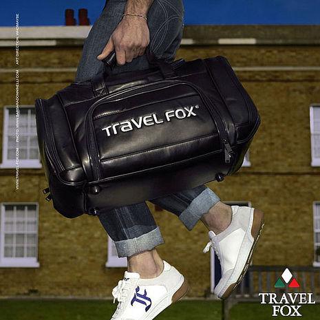 Travel Fox 旅狐乾濕分離休閒運動衣物袋(黑)(TB036-01)