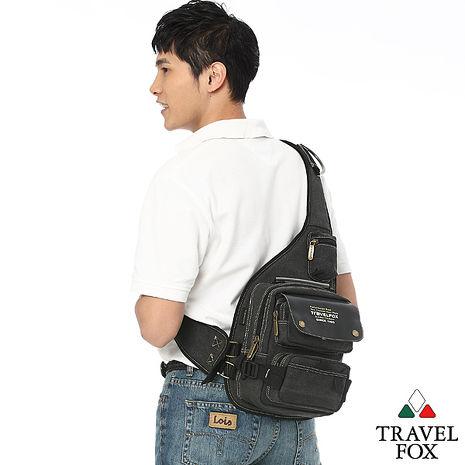 Travel Fox 旅狐原野斜背包(黑)(TB369-01)