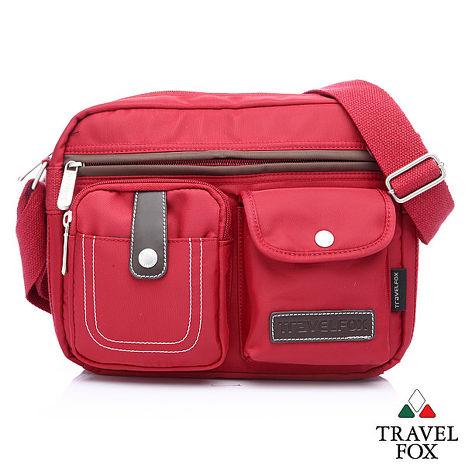 Travel Fox 旅狐西堤全防護側背包(紅)(TB605-04)【預購】