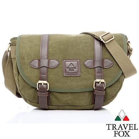 Travel Fox 旅狐約瑟側背包(iPad可入)(綠)(TB655-17)【預購】