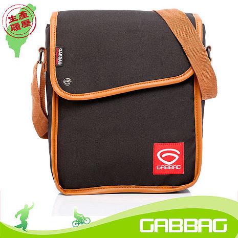 GABBAG 長崛側背包(iPad平板可入)(黑)(GB14107-01)【預購】
