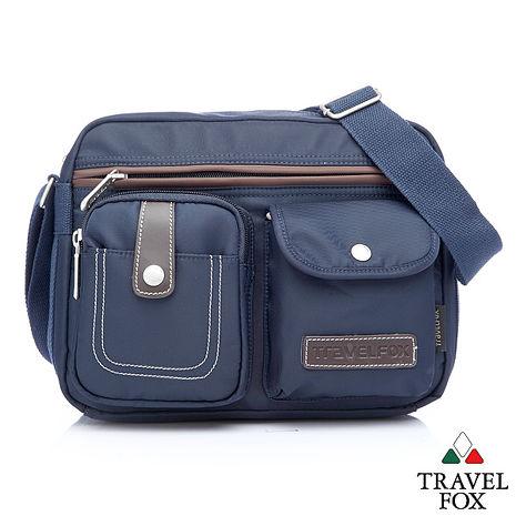 Travel Fox 旅狐西堤全防護側背包(藍)(TB605-47)【預購】