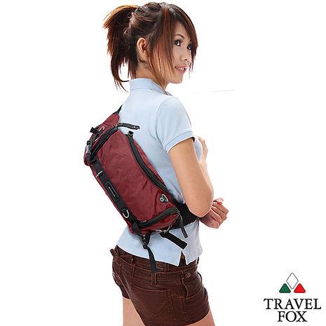 Travel Fox 旅狐經典隨身臀/腰/斜背包紅TB236-04