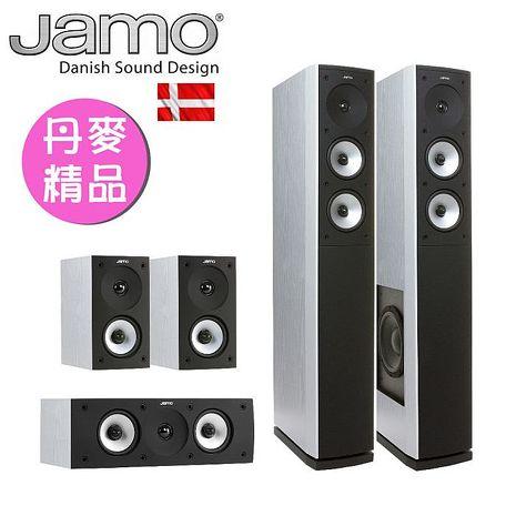 【Jamo家庭劇院組合】- S626 HCS 白
