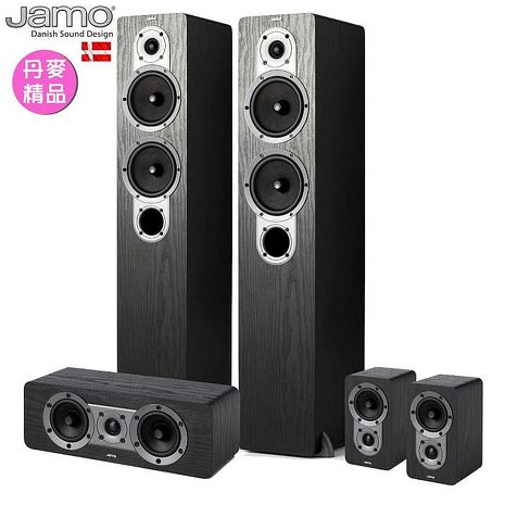 【Jamo家庭劇院組合】- S426 HCS 3 黑 / 胡桃木