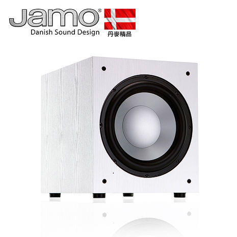 【Jamo超低音喇叭】─Jamo J12 Sub 白-家電.影音-myfone購物