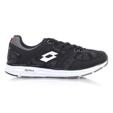 【LOTTO】女輕量慢跑鞋 II-路跑 慢跑 運動鞋 黑白