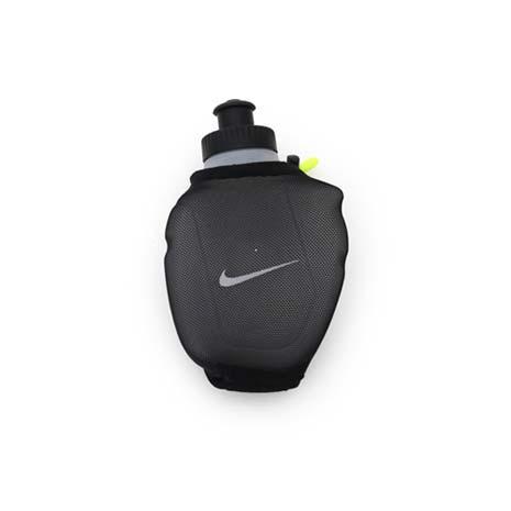 【NIKE】跑步手拿水壺6OZ -慢跑 路跑 運動 黑螢光綠