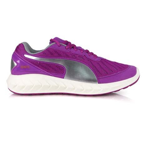 【PUMA】IGNITE ULTIMATE 女慢跑鞋- 路跑 運動 健走 紫銀24.5