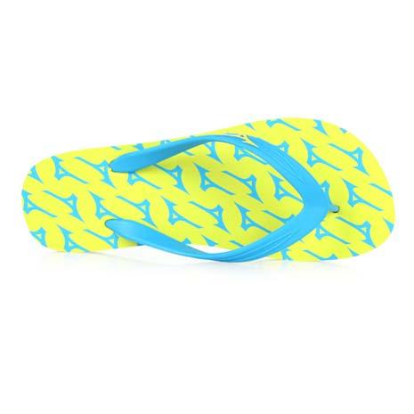 【MIZUNO】男女夾腳拖鞋- 人字拖 海灘 美津濃 綠藍