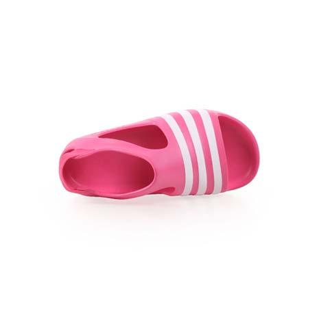 【ADIDAS】ADILETTE PLAY I 男女兒童涼鞋-愛迪達 桃紅白