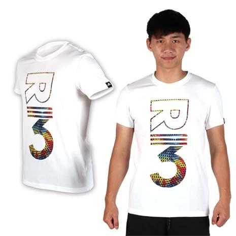 【ADIDAS】男短袖T恤- 慢跑 路跑 愛迪達 棉T 白紅黃