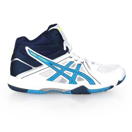 【ASICS】GEL-TASK MT 男排羽球鞋- 羽毛球 排球 白黃湖水藍
