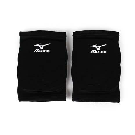 【MIZUNO】運動用排球護膝 -成人用護膝 防撞護膝 美津濃 黑白L