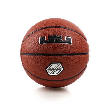 【NIKE】LEBRON XIII ALL COURTS七號籃球-JAMES 橘黑