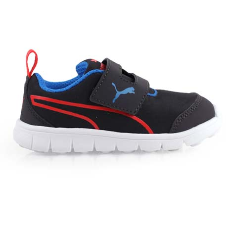 【PUMA】BAO 2 V PLAY INF男女兒童休閒運動鞋 -童鞋 黑藍紅15.5