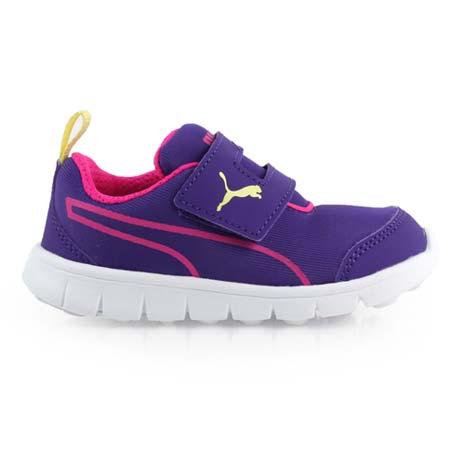 【PUMA】BAO 2 V PLAY INF男女兒童休閒運動鞋 -童鞋 紫桃紅15.5