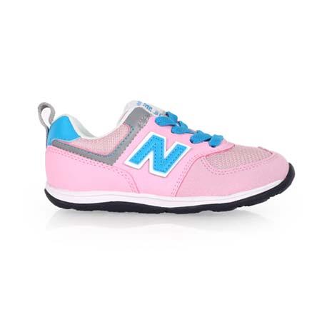 【NEWBALANCE】WIDE 574系列 男女兒童復古休閒鞋-寬楦 NB 粉紅水藍15
