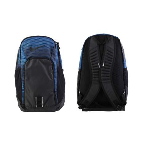 【NIKE】TEAM TRAINING 氣墊後背包 -雙肩包 登山 旅行包 黑藍