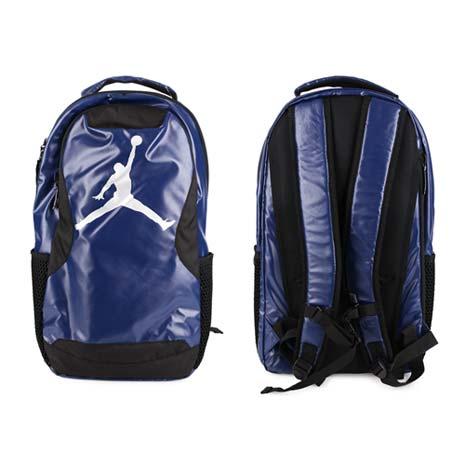 【NIKE】JORDAN TRAINING DAY後背包-喬丹 雙肩包 18吋筆電 丈青銀