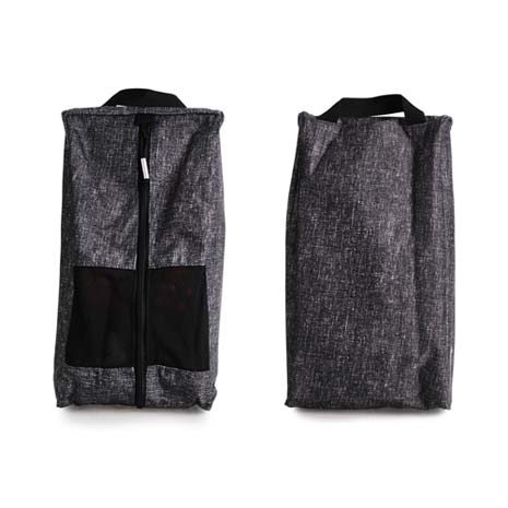 【NIKE】GOLF 高爾夫休閒包-鞋袋 高爾夫球 手拿袋 手提袋 碳灰黑