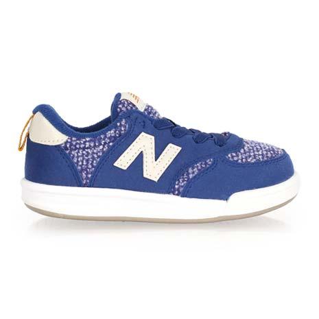 【NEWBALANCE】KT 300系列 男女兒童復古休閒鞋 - NB N字鞋 深藍白
