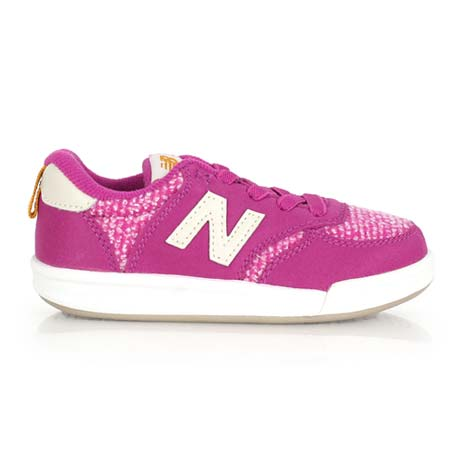 【NEWBALANCE】KT 300系列 男女兒童復古休閒鞋 - NB N字鞋 紫白