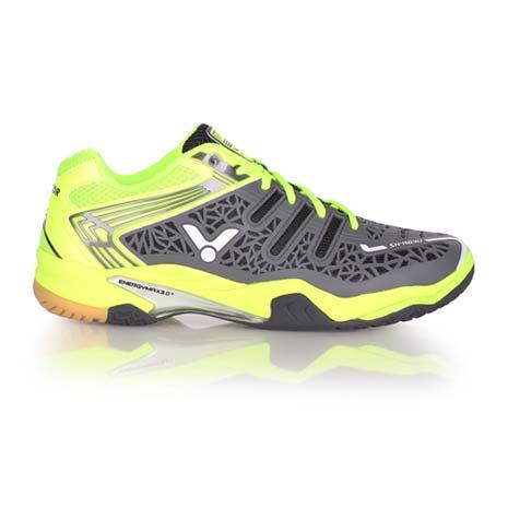 【VICTOR】SH-A830 男專業羽球鞋 - 羽毛球 勝利 螢光綠灰