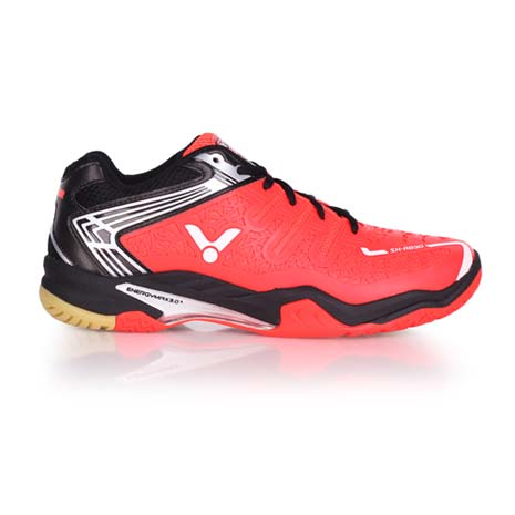 【VICTOR】SH-A830 男專業羽球鞋 - 羽毛球 勝利 橘黑28.5