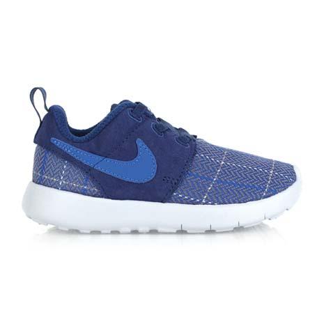 【NIKE】ROSHE ONE SE -TDV 男女嬰童運動鞋- 童鞋 藍灰14