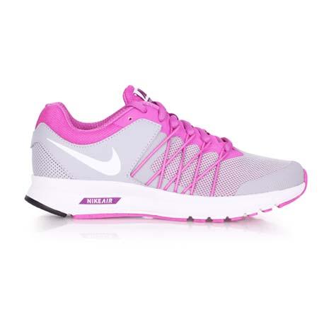 【NIKE】WMNS AIR RELENTLESS 6 MSL 女慢跑鞋- 路跑 灰粉24.5